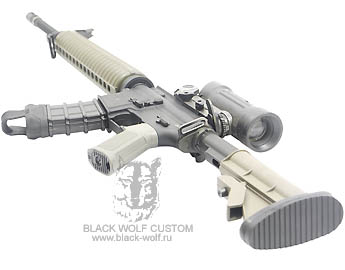 Diemaco 5.56mm C7A2 Rifle