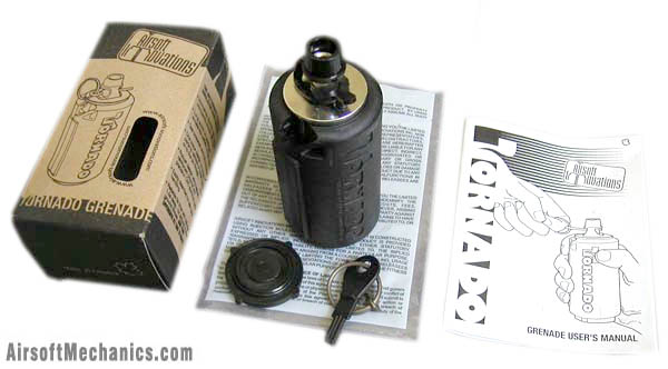 Граната Airsoft-Innovations Tornado Grenade