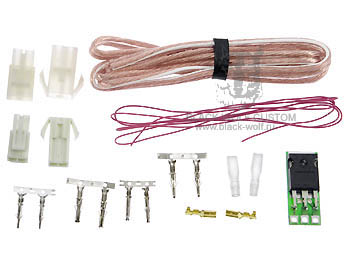 Airsoft Power MOSFET key upgrade kit