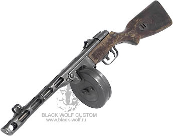 Custom Blow Back ММГ ППШ 1943 CO2