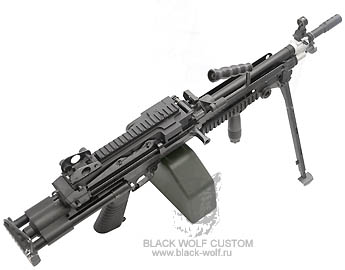 TOP M249 FN Minimi Paratrooper Version